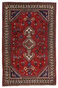 Gashgai Alfombra 80X125 Oriental Hecha A Mano Rojo Oscuro/Negro/Óxido/Roja (Lana, Persia/Irán)