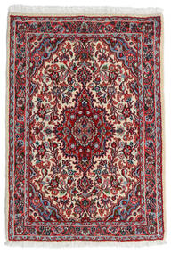 Hamadan Shahrbaf Alfombra 68X96 Oriental Hecha A Mano Rojo Oscuro/Beige (Lana, Persia/Irán)