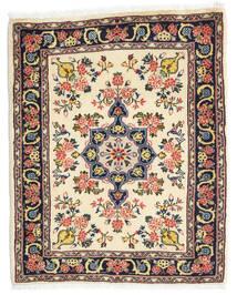 Hamadan Shahrbaf Alfombra 65X80 Oriental Hecha A Mano Beige/Negro (Lana, Persia/Irán)