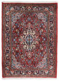Hamadan Shahrbaf Alfombra 71X95 Oriental Hecha A Mano Rojo Oscuro/Gris Claro (Lana, Persia/Irán)