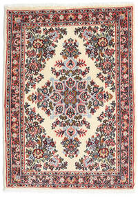 Hamadan Shahrbaf Alfombra 65X90 Oriental Hecha A Mano Beige/Gris Claro (Lana, Persia/Irán)