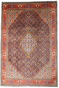 Ardabil Alfombra 215X320 Oriental Hecha A Mano Rojo Oscuro/Púrpura Oscuro (Lana, Persia/Irán)
