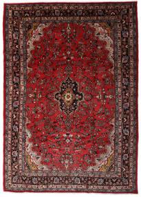 Hamadan Shahrbaf Alfombra 203X290 Oriental Hecha A Mano Rojo Oscuro/Marrón Oscuro (Lana, Persia/Irán)