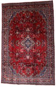 Hamadan Shahrbaf Alfombra 208X310 Oriental Hecha A Mano Rojo Oscuro/Roja (Lana, Persia/Irán)
