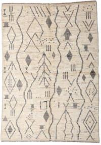 Moroccan Berber - Afghanistan Alfombra 167X234 Moderna Hecha A Mano Gris Claro/Beige (Lana, Afganistán)