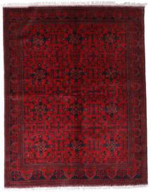 Afghan Khal Mohammadi Alfombra 174X220 Oriental Hecha A Mano Rojo Oscuro/Roja (Lana, Afganistán)