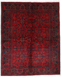 Afghan Khal Mohammadi Alfombra 148X185 Oriental Hecha A Mano Rojo Oscuro/Roja (Lana, Afganistán)