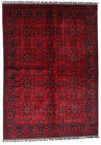 Afghan Khal Mohammadi Alfombra 170X240 Oriental Hecha A Mano Rojo Oscuro/Roja (Lana, Afganistán)