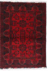 Afghan Khal Mohammadi Alfombra 102X140 Oriental Hecha A Mano Rojo Oscuro/Marrón Oscuro/Roja (Lana, Afganistán)