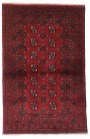 Afghan Alfombra 95X147 Oriental Hecha A Mano Rojo Oscuro/Marrón Oscuro (Lana, Afganistán)