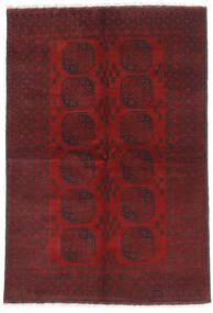Afghan Alfombra 160X232 Oriental Hecha A Mano Rojo Oscuro/Marrón Oscuro (Lana, Afganistán)