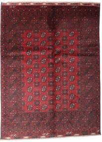 Afghan Alfombra 81X121 Oriental Hecha A Mano Rojo Oscuro/Roja (Lana, Afganistán)