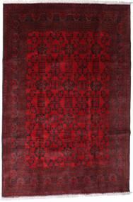 Afghan Khal Mohammadi Alfombra 192X288 Oriental Hecha A Mano Rojo Oscuro/Marrón Oscuro/Roja (Lana, Afganistán)
