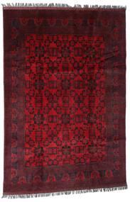 Afghan Khal Mohammadi Alfombra 194X286 Oriental Hecha A Mano Rojo Oscuro/Roja (Lana, Afganistán)