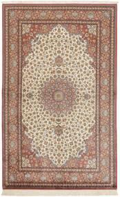 Ghom De Seda Alfombra 158X250 Oriental Hecha A Mano Rojo Oscuro/Marrón (Seda, Persia/Irán)