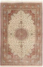 Ghom De Seda Alfombra 160X251 Oriental Hecha A Mano Marrón/Beige (Seda, Persia/Irán)