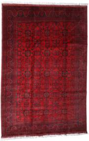 Afghan Khal Mohammadi Alfombra 203X301 Oriental Hecha A Mano Rojo Oscuro/Roja (Lana, Afganistán)