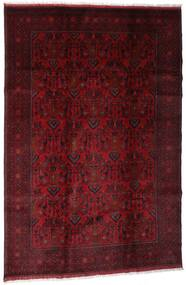 Afghan Khal Mohammadi Alfombra 198X295 Oriental Hecha A Mano Rojo Oscuro/Marrón Oscuro (Lana, Afganistán)