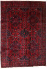 Afghan Khal Mohammadi Alfombra 199X289 Oriental Hecha A Mano Rojo Oscuro (Lana, Afganistán)