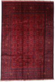 Afghan Khal Mohammadi Alfombra 197X289 Oriental Hecha A Mano Rojo Oscuro (Lana, Afganistán)