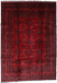 Afghan Khal Mohammadi Alfombra 207X289 Oriental Hecha A Mano Rojo Oscuro/Marrón Oscuro (Lana, Afganistán)