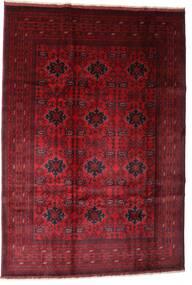 Afghan Khal Mohammadi Alfombra 201X293 Oriental Hecha A Mano Rojo Oscuro/Marrón Oscuro (Lana, Afganistán)