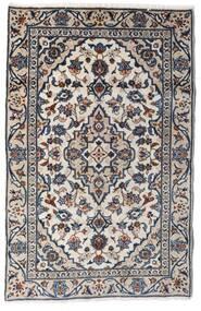 Keshan Alfombra 90X140 Oriental Hecha A Mano Gris Claro/Gris Oscuro (Lana, Persia/Irán)