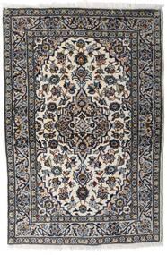 Keshan Alfombra 94X148 Oriental Hecha A Mano Gris Claro/Negro (Lana, Persia/Irán)