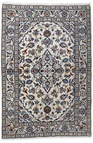 Keshan Alfombra 98X147 Oriental Hecha A Mano Gris Claro/Gris Oscuro (Lana, Persia/Irán)