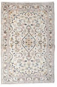 Keshan Alfombra 97X150 Oriental Hecha A Mano Gris Claro/Beige (Lana, Persia/Irán)