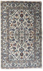 Keshan Alfombra 95X154 Oriental Hecha A Mano Gris Claro/Gris Oscuro (Lana, Persia/Irán)