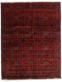 Kunduz Alfombra 151X193 Oriental Hecha A Mano Rojo Oscuro/Marrón Oscuro (Lana, Afganistán)