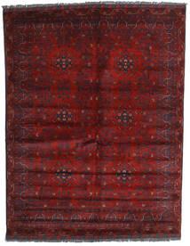 Kunduz Alfombra 158X202 Oriental Hecha A Mano Rojo Oscuro (Lana, Afganistán)