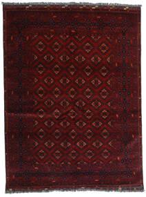 Kunduz Alfombra 147X192 Oriental Hecha A Mano Rojo Oscuro (Lana, Afganistán)