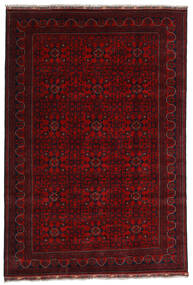 Kunduz Alfombra 191X281 Oriental Hecha A Mano Rojo Oscuro (Lana, Afganistán)