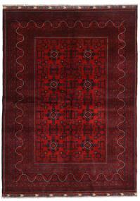 Kunduz Alfombra 169X232 Oriental Hecha A Mano Rojo Oscuro/Roja (Lana, Afganistán)