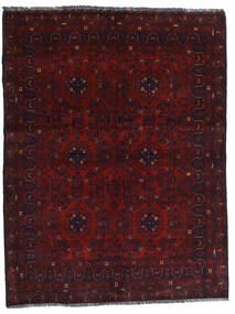 Kunduz Alfombra 148X194 Oriental Hecha A Mano Rojo Oscuro (Lana, Afganistán)