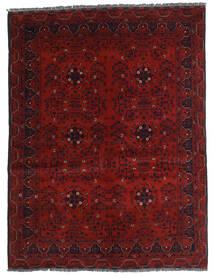 Kunduz Alfombra 146X194 Oriental Hecha A Mano Rojo Oscuro (Lana, Afganistán)
