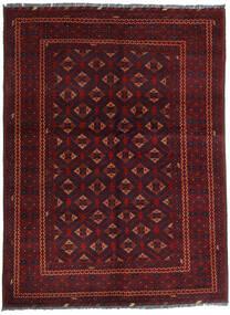 Kunduz Alfombra 145X195 Oriental Hecha A Mano Rojo Oscuro (Lana, Afganistán)