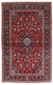 Keshan Alfombra 98X158 Oriental Hecha A Mano Rojo Oscuro/Azul Oscuro (Lana, Persia/Irán)