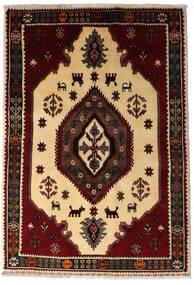 Gashgai Alfombra 127X183 Oriental Hecha A Mano Marrón Oscuro/Beige Oscuro (Lana, Persia/Irán)