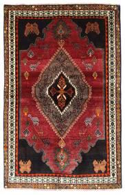 Gashgai Alfombra 127X203 Oriental Hecha A Mano Rojo Oscuro/Marrón Oscuro (Lana, Persia/Irán)