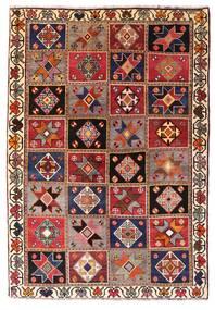 Gashgai Alfombra 136X197 Oriental Hecha A Mano Rojo Oscuro/Marrón Oscuro (Lana, Persia/Irán)