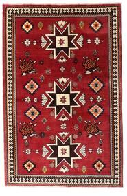 Gashgai Alfombra 127X197 Oriental Hecha A Mano Rojo Oscuro (Lana, Persia/Irán)