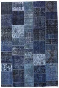 Patchwork - Persien/Iran Alfombra 200X295 Moderna Hecha A Mano Azul/Azul Oscuro (Lana, Persia/Irán)