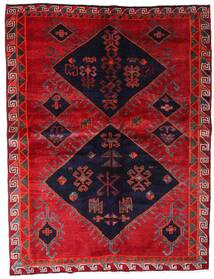 Lori Alfombra 172X226 Oriental Hecha A Mano Roja/Púrpura Oscuro (Lana, Persia/Irán)