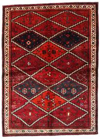 Lori Alfombra 162X224 Oriental Hecha A Mano Rojo Oscuro (Lana, Persia/Irán)