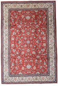 Sarough Alfombra 205X300 Oriental Hecha A Mano Marrón Oscuro/Rojo Oscuro (Lana, Persia/Irán)