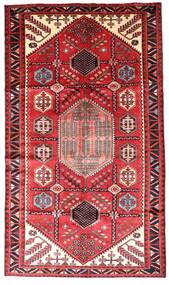 Hamadan Alfombra 147X252 Oriental Hecha A Mano Rojo Oscuro/Óxido/Roja (Lana, Persia/Irán)
