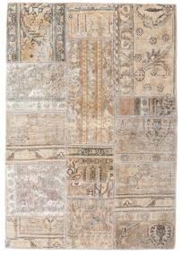 Patchwork - Persien/Iran Alfombra 106X155 Moderna Hecha A Mano Gris Claro/Beige (Lana, Persia/Irán)